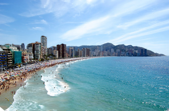 Weather Benidorm in August 2019: Temperature & Climate